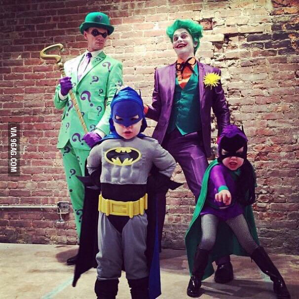 Neil Patrick Harris and his family
