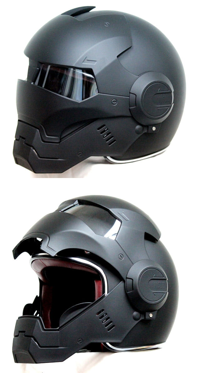 casco para moto de iron man forocoches. Black Bedroom Furniture Sets. Home Design Ideas