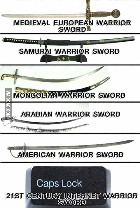 Warrior sword