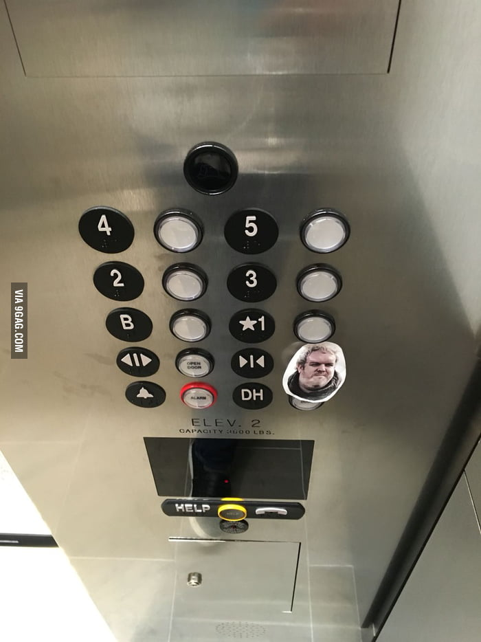 Elevator at work