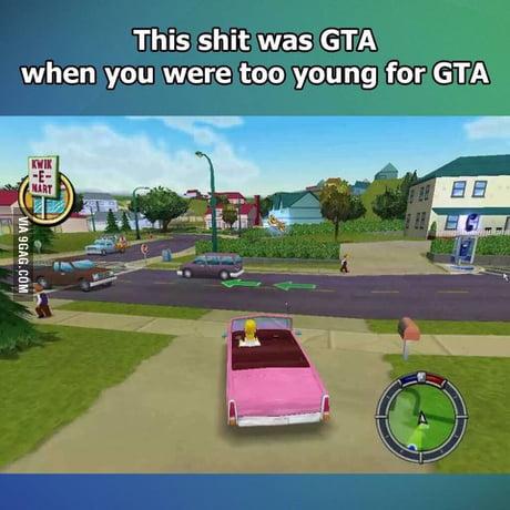 Remember this Simpsons GTA lol!