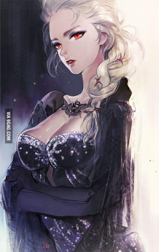 I like this Elsa more.