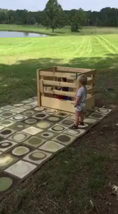 Kid on a stuffed toy