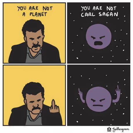 Neil Degrasse Tyson vs Pluto