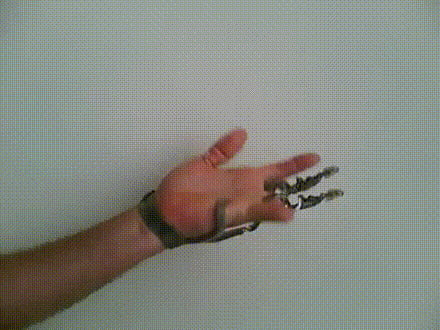 Active-function Artificial Finger Assembly