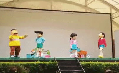 The worst thing to happen during a Doraemon children show