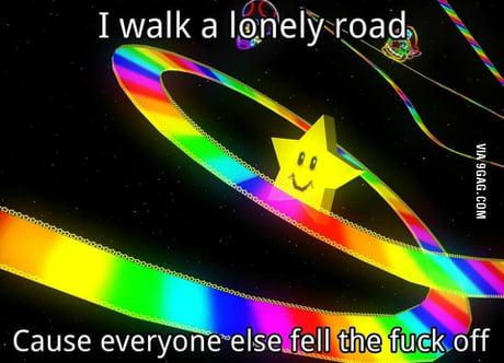 Rainbow road ruined friendships