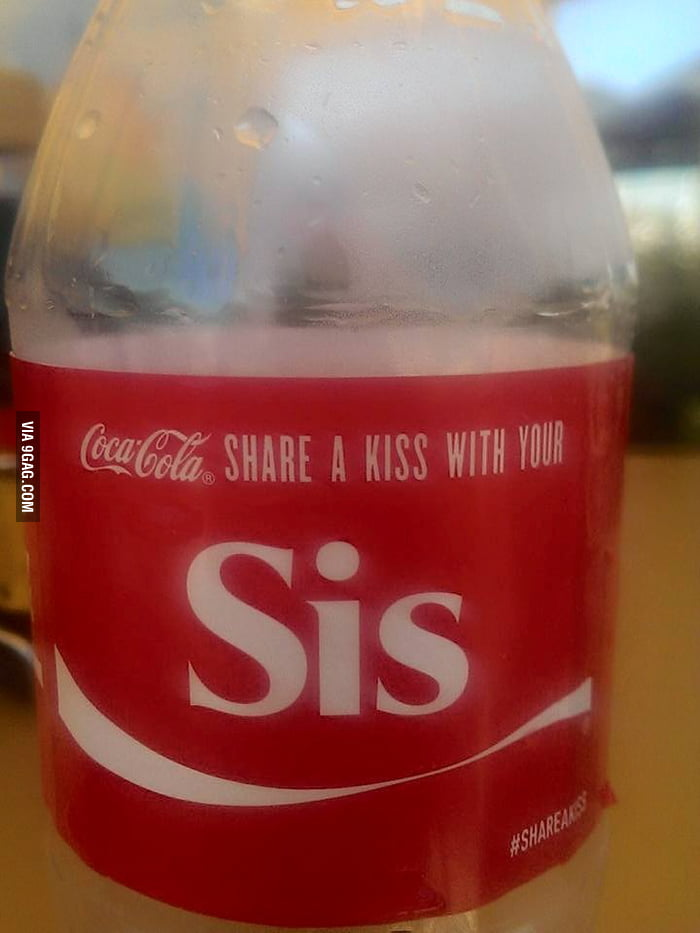 Coca-cola get your sh*t together