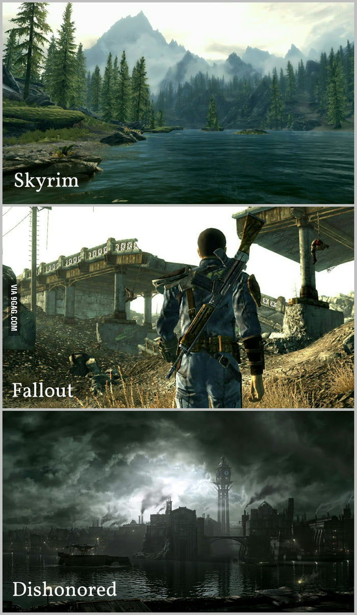 Given a chance, which one of these Bethesda's worlds would you choose to live?
