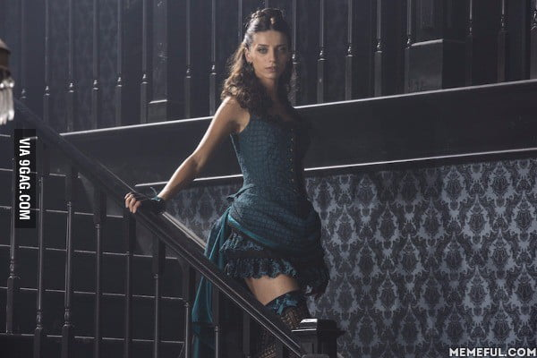 My new TV crush, Angela Sarafyan (Westworld)
