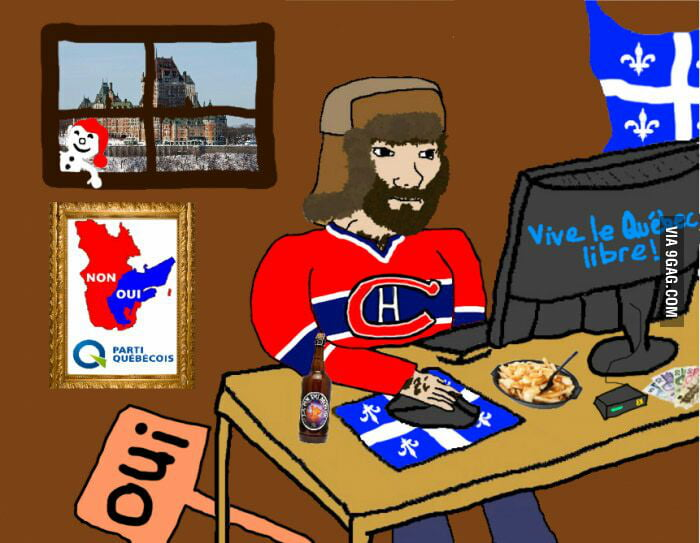 When I tell people I am French Canadian