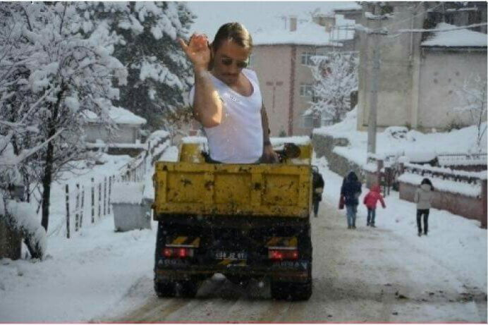 This is how roads are cleaned now