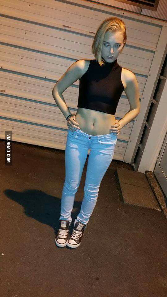 I think I found Android 18 in real life