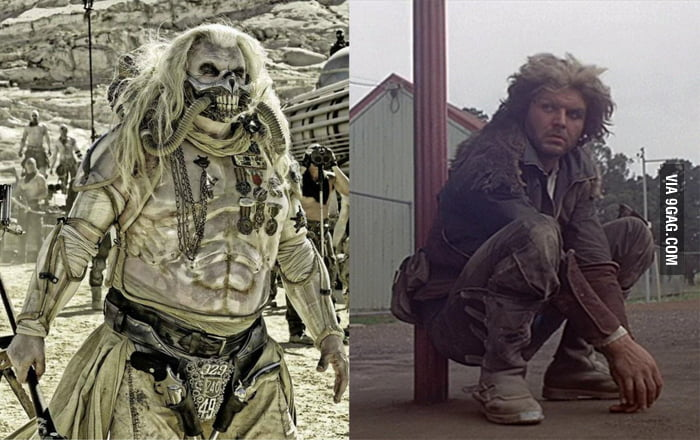 The actor who played Immortan Joe is also the one who played the villain in the first Mad Max!
