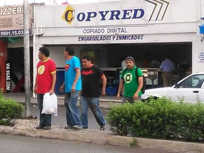 Mexican justice league