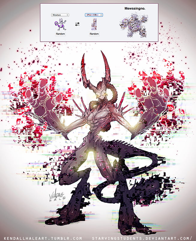 Missingo+Mewtwo = Pokemon Devil ?