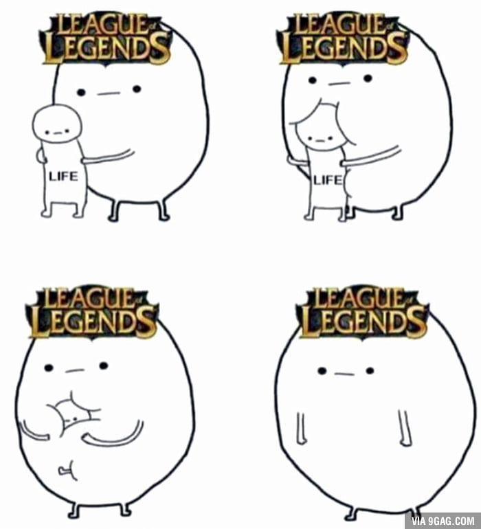 League of Legend's players have no life