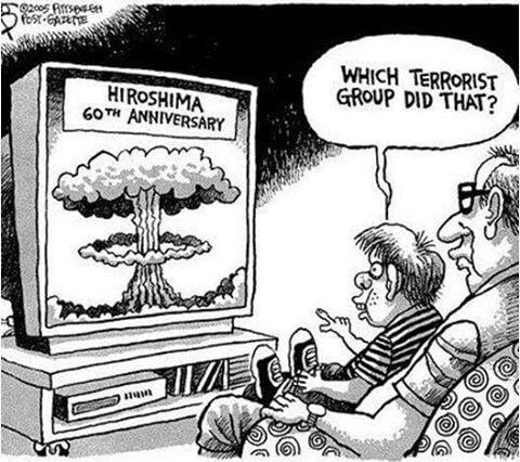 Those evil terrorists....