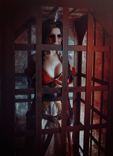 Blinded Philippa Eilhart Cosplay from The Witcher 3. Amazingly done!: The,best,free,download