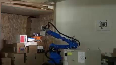 UPS Robot at work