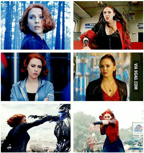 Black Widow and Scarlet Witch: who will you choose?