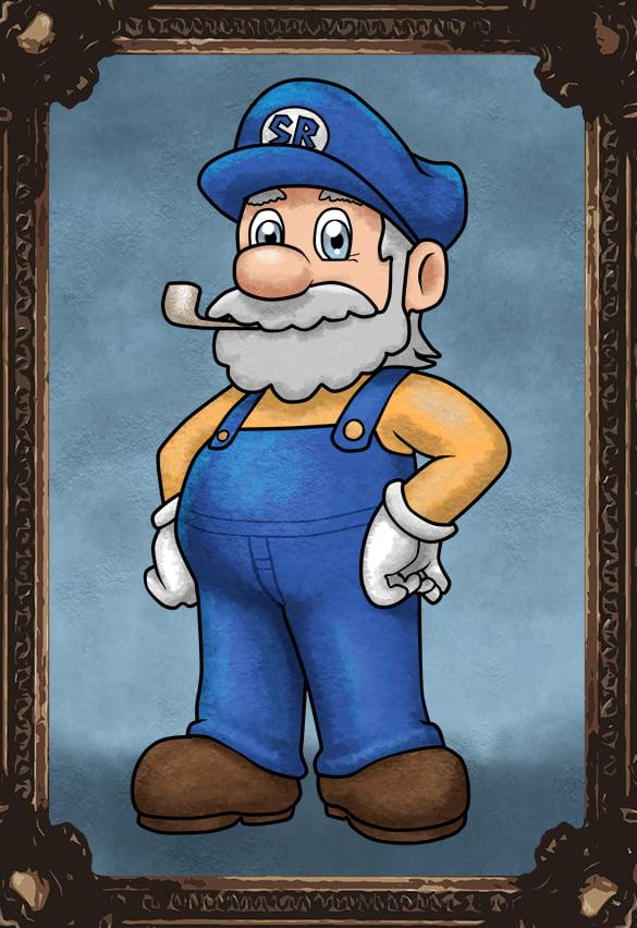 Mario's dad
