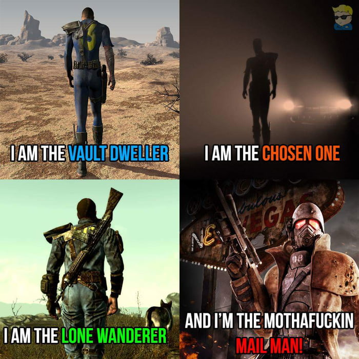 Follow the fallout series