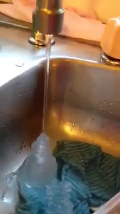It was so cold in Albury, NSW (Australia) this morning that the water was freezing out of the tap