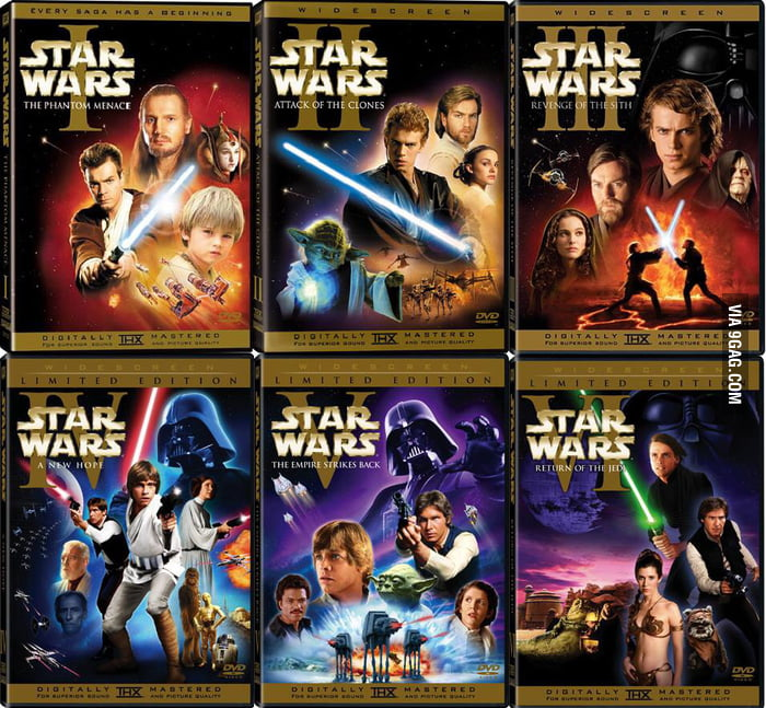 Anyone else watching all the Star Wars movies before the new one? I am