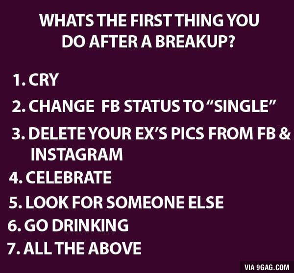What do you do after breakup