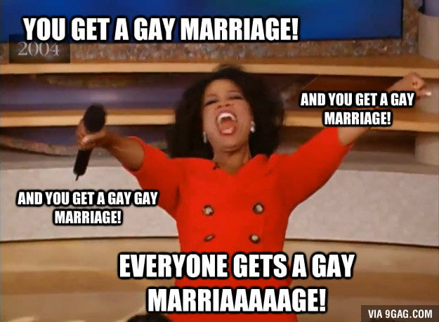 Gay Marriage Legalised Nationwide by U.S. Supreme Court…