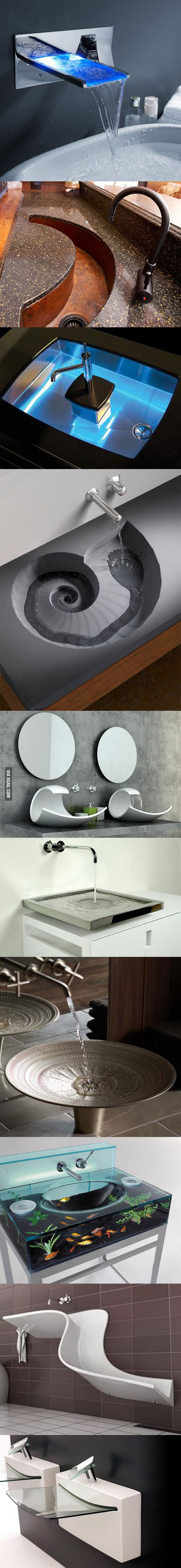 Fancy sinks