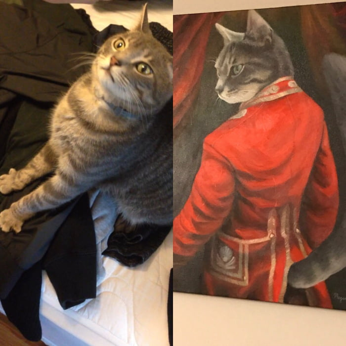 Didn't get a lot of love elsewhere but, how about my derps commissioned painting.