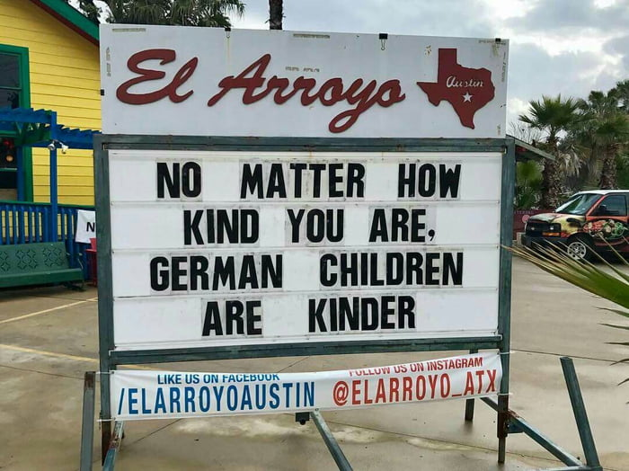 No matter how kind you are, I won't get any kinder