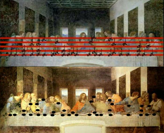 ผลการค้นหารูปภาพสำหรับ the last supper music