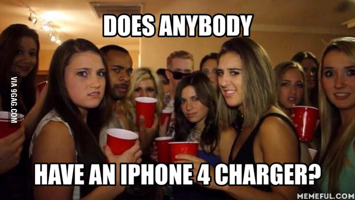 Everytime I ask for a charger