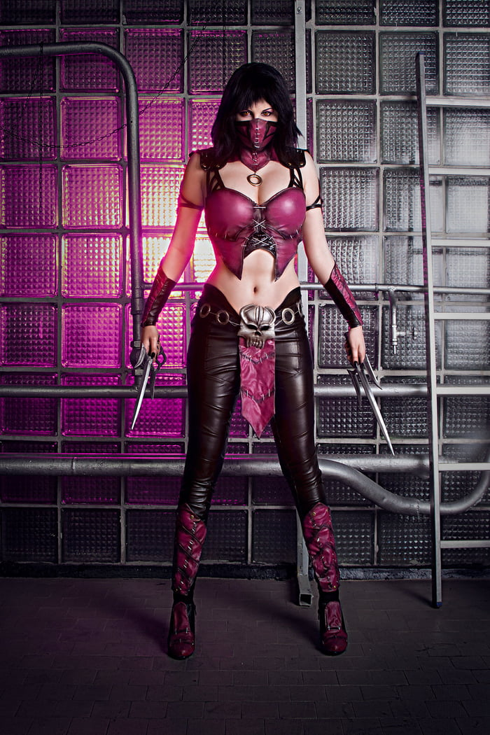 Mileena cosplay by Zyunka Muhina