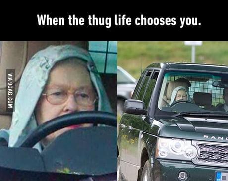 Queen's gotta get the job done.