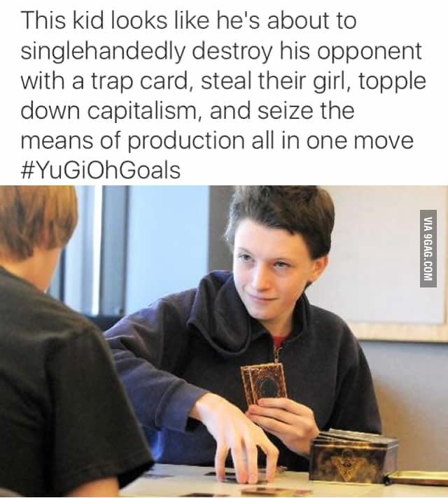 #YuGiOh Goals