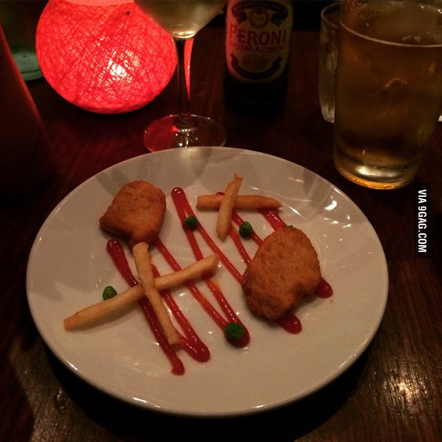 My boyfriend promised me a fancy dinner for our date