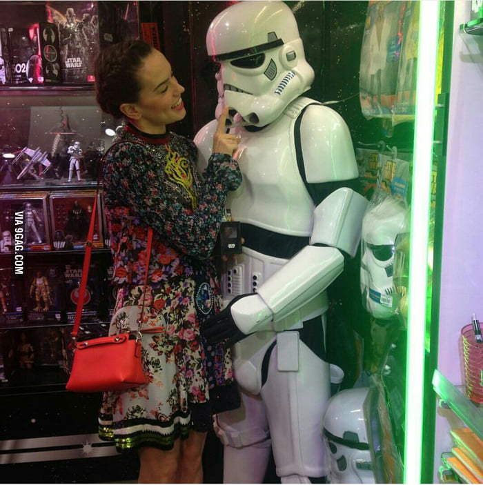 This trooper has more luck than all of us