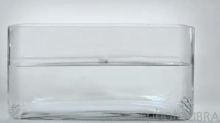 Cesium in water