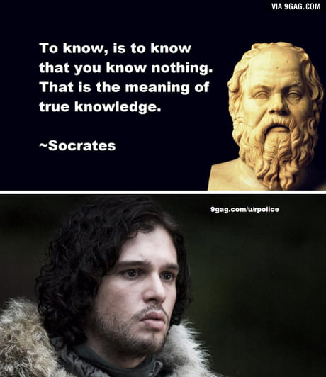 Jon Snow knows more than you might think
