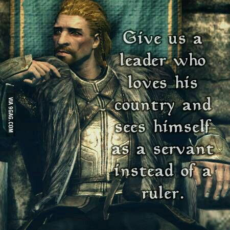 The Imperials should know this! ALL HAIL ULFRIC!