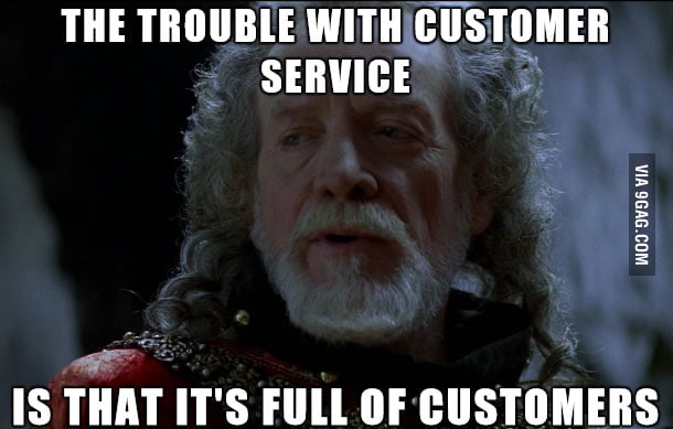 My experience working in retail