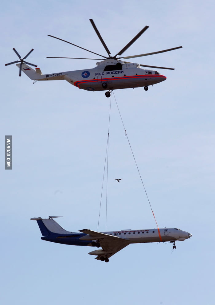 World's biggest operational helicopter.