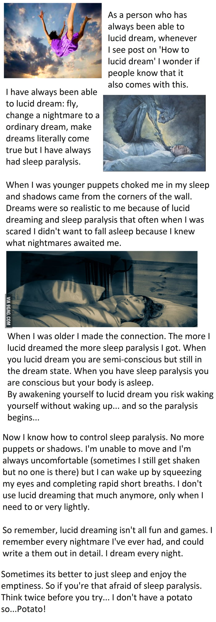 The  Dark Secret of Lucid Dreaming