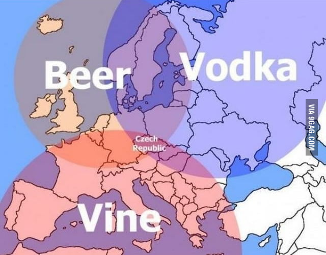Alcohol circles in Europe