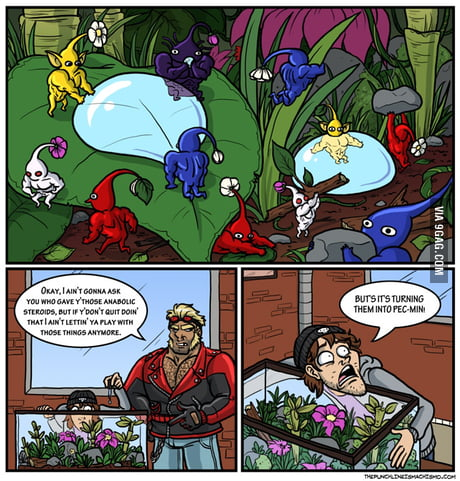 Pikmin On Steroid 9gag