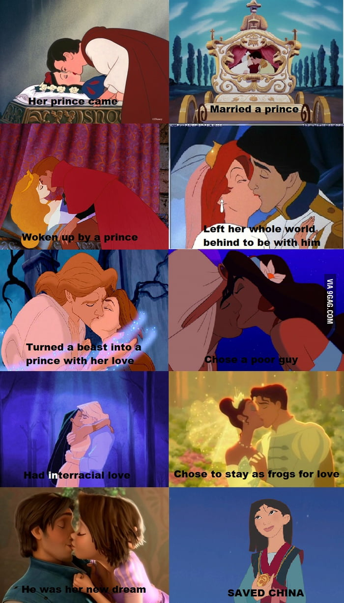 Asians: Disney Princess level